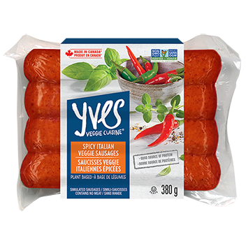 Spicy Italian Veggie Sausages